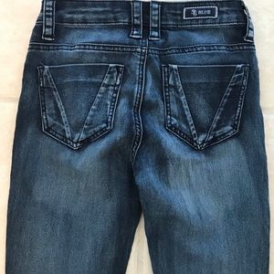 STS Blue Medium Wash Mid Rise Skinny Jeans Size 0